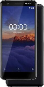 Nokia-3-1-Single-Sim-Schwarz-TOP-Zustand
