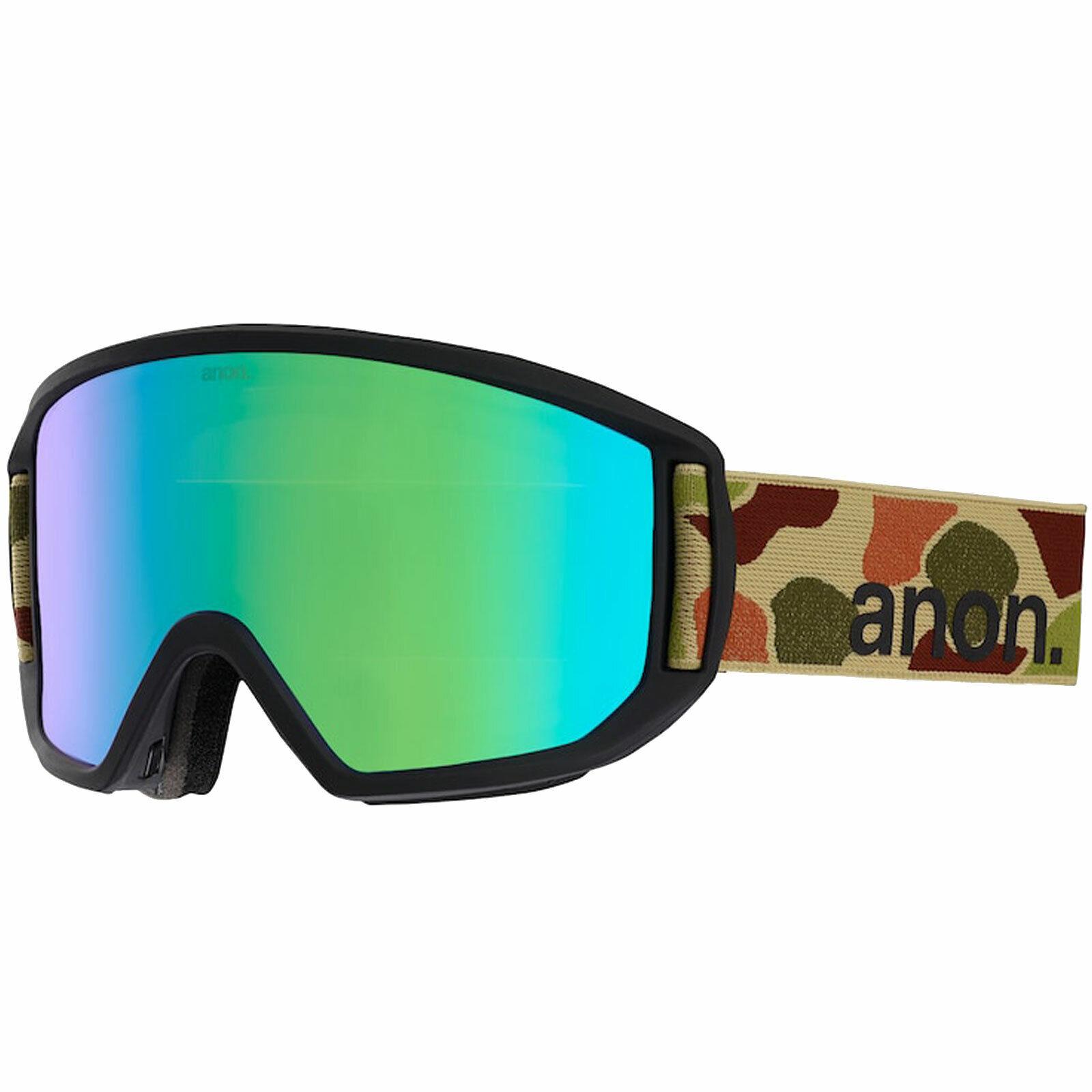 Anon Relapse Gafas+Cristal Intercambiable hombres-Snowboardbrille Gafas Gafas Gafas Esquí d02610