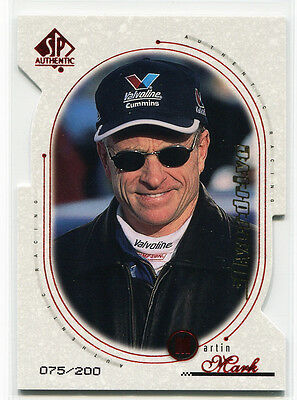 1999 SP Authentic Overdrive 20 Mark Martin 75/200