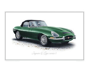 Image Is Loading Jaguar E Type S1 Roadster Limited Edition Classic
