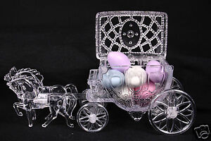 Details About Cinderella Horse And Carriage Coach Wedding Cake Topper Party Decoration Favor
