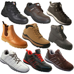 NEW-MEN-SAFETY-TRAINERS-SHOES-BOOT-WORK-STEEL-TOE-CAP-ANKLE-SIZE-6-13UK-LADIES