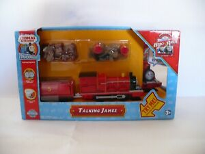 Thomas-Trackmaster-039-Talking-James-039-Hero-of-the-Rails-by-Tomy-sealed