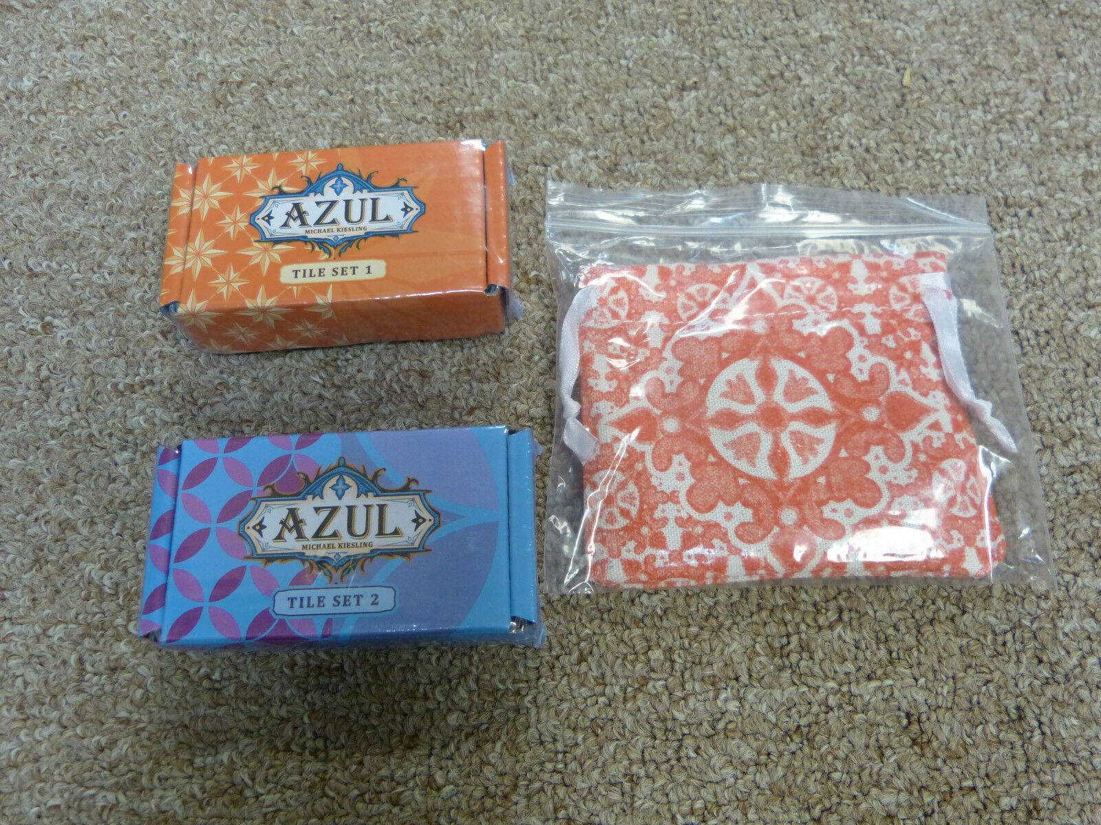 azul Joker Tiles, and rojo & azul Collector Tile Sets - NEW