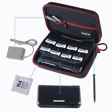 Scootree Protective Carry Case for NEW Nintendo 3DS, NEW 3DS XL, 3DSLL - Blk/Red