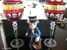 Rosenthal VERSACE Prestige Gala 2 x Rotweingläser Red  0,29 l. ***NEU & OVP***