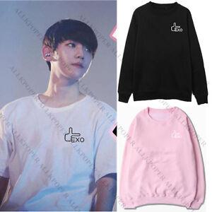 Kpop-EXO-Baekhyun-Sweater-Unisex-EX-039-ACT-Hoodie-Sweatershirt-Pullover