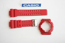 CASIO New G-Shock Original GA-110FC-1A Red BAND & BEZEL Combo GA-100B-4A GA-100