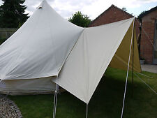 Bell Tent Canvas  Awning / Tarp Medium 360 x 240cm By Bell Tent Boutique