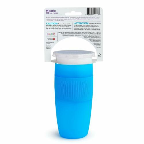 Munchkin 360 Sippy Cup Toddlers Kids Baby Drinking Trainer Spill Proof 14 Oz NEW