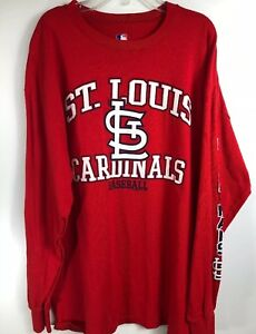 a22f5215 Details about Men's MLB Genuine Merchandise Red St Louis Cardinals XL T  Shirt