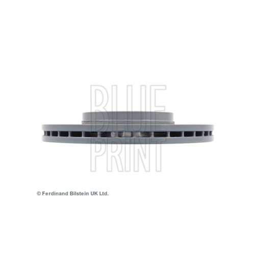 GENUINE OE Qualité Imprimé Bleu 5 Boucles Avant Ventilé Disques De Frein Paire-ADZ94317