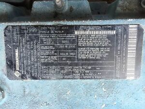 Details about International DT466E