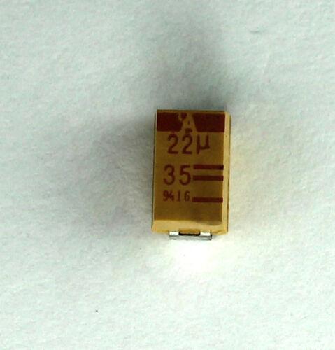22UF 20/% LOW-ESR TANT. CAP. 35V 20 X AVX -TPSE226M035R0300 7343-43  SMD