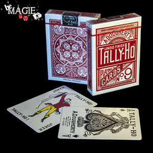 Jeu TALLY-HO Fan back - cartes poker - magie
