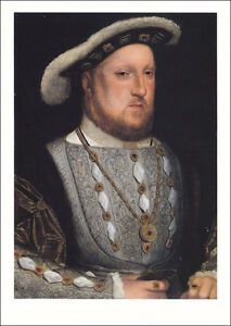 Postcard-Henry-VIII-King-of-England-Royals-Royalty-16th-15th-century