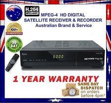 XERO G5 HD Australian Digital MPEG-4 Satellite Receiver&Recorder+1 YEAR WARRANTY