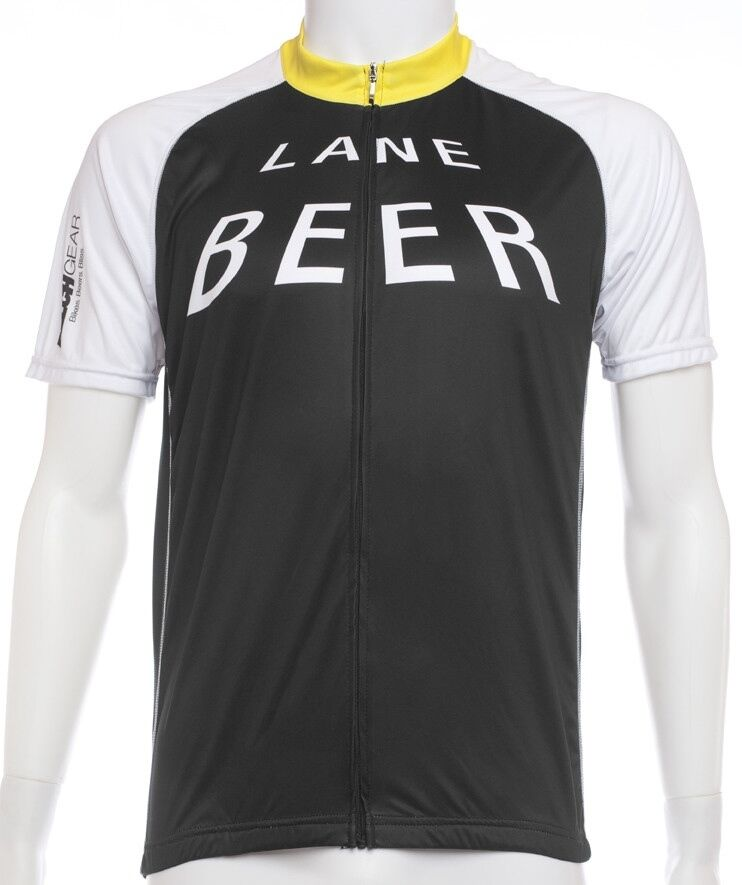 Beer Lane Cycling Jersey by BELCH. Founded from divertimento.