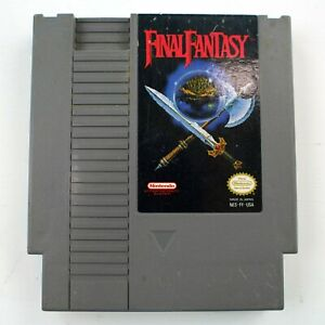 FINAL-FANTASY-NES-NINTENDO-GOOD-Tested-Works-Fast-Free-Shipping-8C