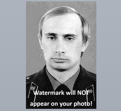 Vladimir Putin KGB PHOTO Soviet Union Russia Agent Operative Uniform