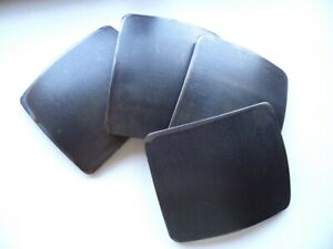 Titanium Bulletproof Plates For Army Body Armor Original 6 5 Mm Double Bend Ebay