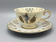 Bavaria porcelain China duo of cup & saucer - Marehenwald Altenberg - Eschenbach