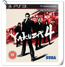 PS3 Yakuza 4 ENGLISH Ryu ga Gotoku  SONY PlayStation Games Action Sega