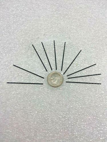10 PCS #63 Micro Jobber Drill High Speed Steel USA