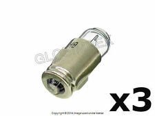 Mercedes w108 Bulb 12V 2W (3) HELLA +1 YEAR WARRANTY