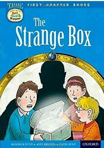 Oxford-Reading-Tree-Level-11-First-Chapter-Books-The-Strange-Box-Biff-Chip-HBT