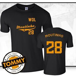 da Wolves dei shirt di maglietta Moutinho 28 Joao T fan Wolverhampton p4qx858Z