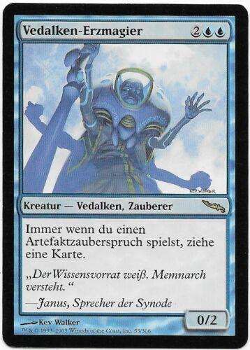 MIRRODIN MTG 2003 Deutsch Vedalken Archmage Mint Vedalken-Erzmagier 55