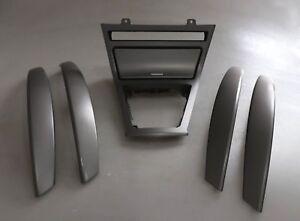 BMW-SERIE-X3-E83-Set-Trim-Striscia-Porta-MARCE-GEAR-COVER-TITAN-MATT-SILVER