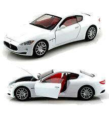 Motor Max 1/18 Scale Maserati Gran Turismo White Diecast Car Model 79151