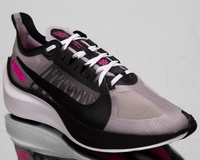 Nike Zoom Gravity Men's Atmosphere Grey Black Running Shoes Sneakers
