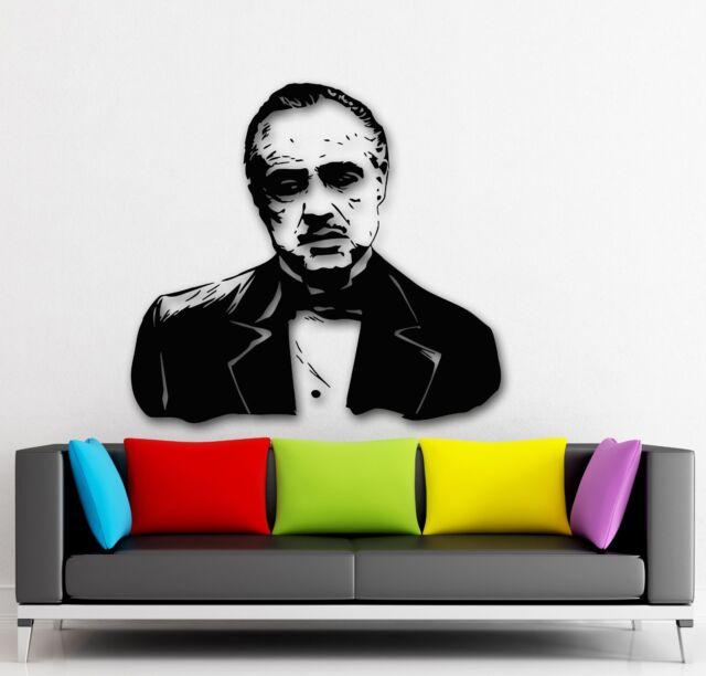 Wall Stickers Vinyl Decal Mafia Godfather Gangster Film (ig1672)