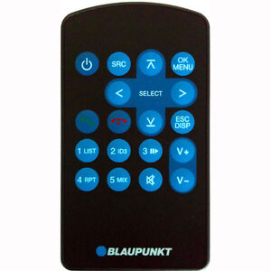 Blaupunkt-hand-held-remote-control-infra-red-for-car-radio-410-310-210-110-model