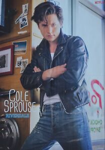 COLE-SPROUSE-A2-Poster-XL-42-x-55-cm-Riverdale-Clippings-Sammlung-NEU