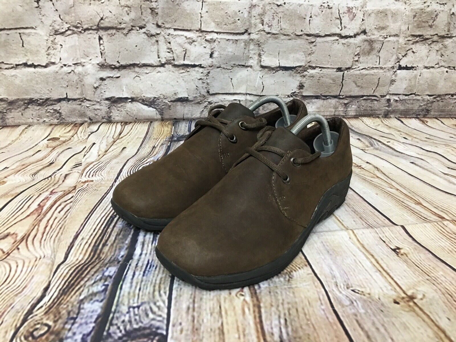 f3a5605c Merrell Jungle Smooth Oxford Brown Leather Men size 9 nqicxm5345 ...