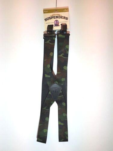 Mann3 Heavy Duty Camouflage Adjustable Braces