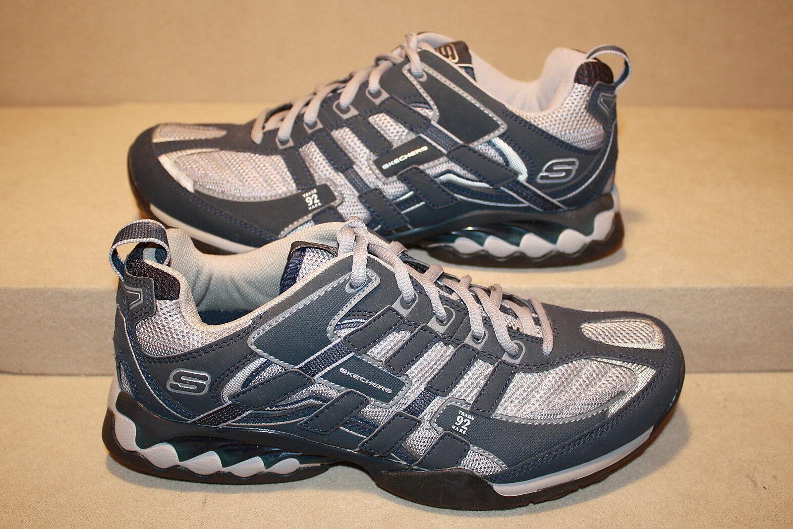 Uomo skechers grigio / blu scarpe vedi - vedi scarpe elenco per dimensioni (951) 098c55