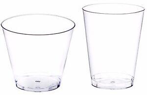 B M Plastic Disposable Glasses