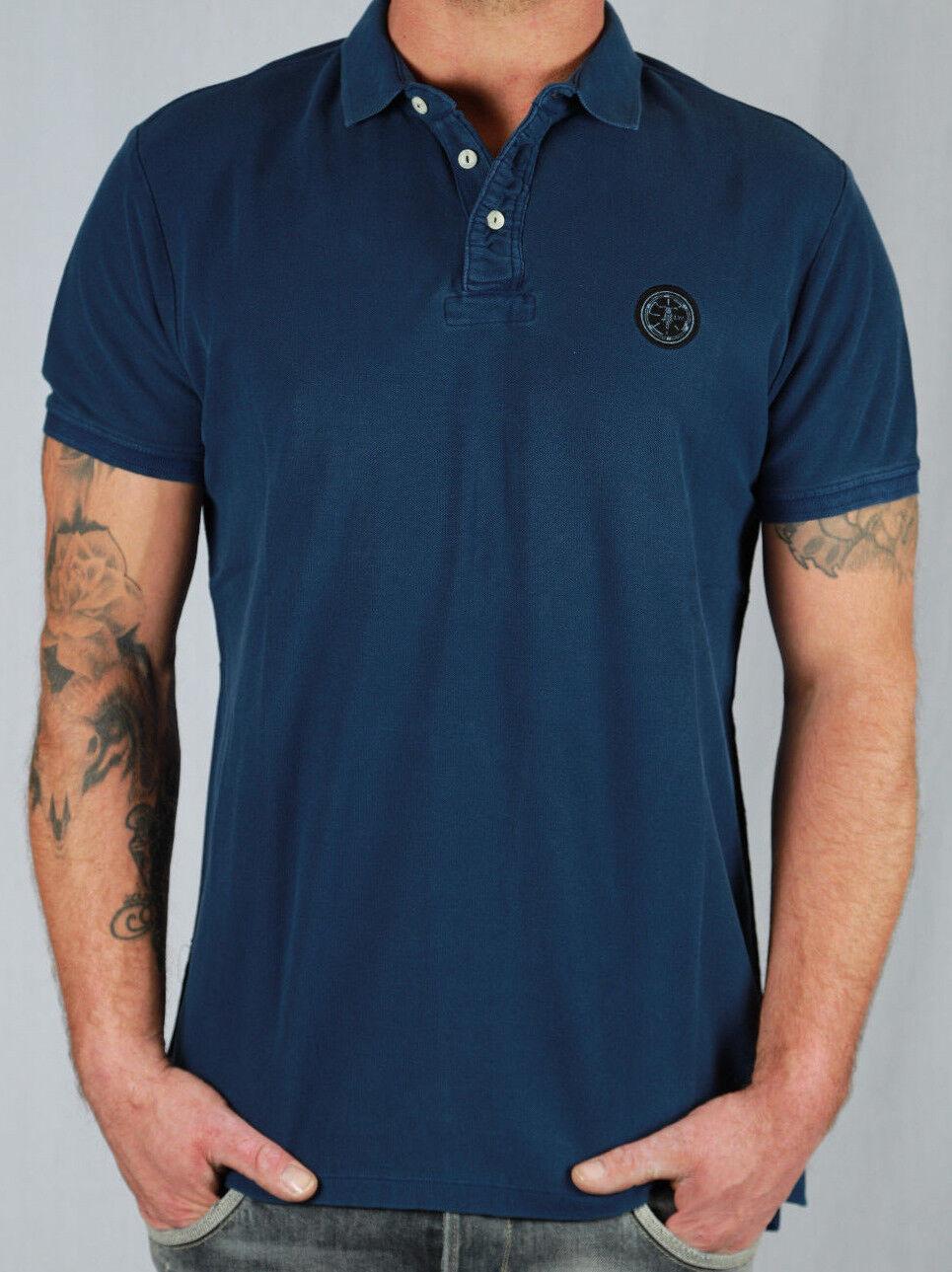 Le temps des Cerises Herren Poloshirt blau Gr. XL, XXL Sports&Lifestyle