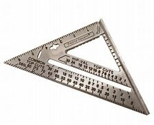 """Sands Aluminum Speed Rafter Square 7"""" x 7"""" x 10"""" Made in the USA 18067"""