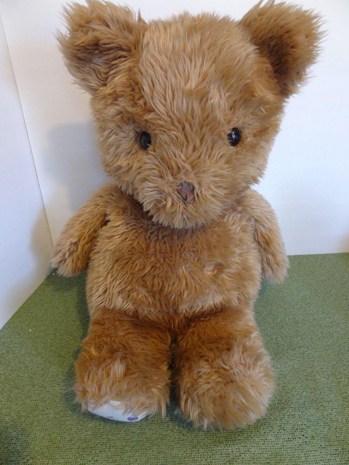 JUMBO 25  Phebe Phillips  RUMPUS BEAR  Stuffed Plush Teddy Doll Animal