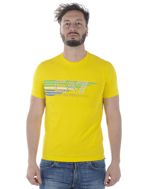 Emporio Armani EA7 T Shirt Sweatshirt Man Gelb 3ZPTA0PJM5Z 1630 Sz.L PUT OFFER