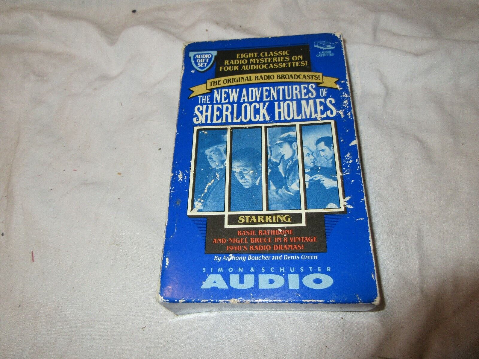 The New Adventures Of Sherelock Holmes , AUDIO , 4 Tape