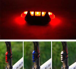 RECHARGEABLE-frame-LED-for-Cycling-Bike-Bicycle-Rear-bar-head-Light-waterproof