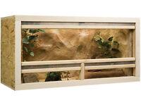 Holz Terrarium 100 X 40 X 50 Cm Osb Platte