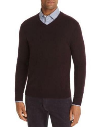 The Men/'s Store Cashmere V-Neck Sweater Raisin Size 2XL